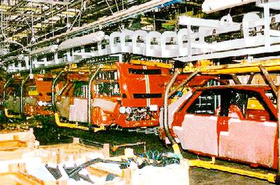 Lancia Delta HF Integrale Vyroba